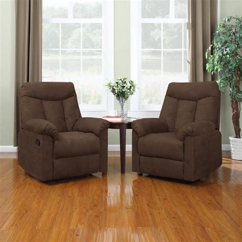 living room with 2 sofas living room living room with two recliners with brown