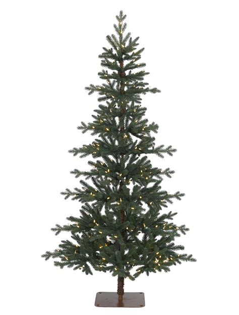 alpine tree artificial alpine pre lit tree balsam hill uk
