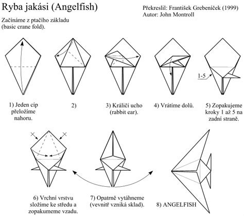 origami fish directions image how to make an origami fish