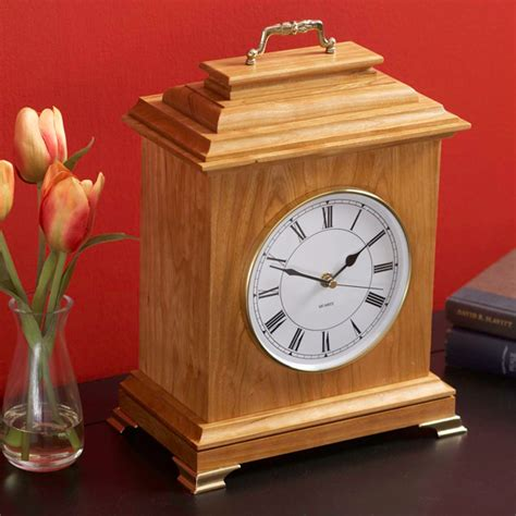 clock plans woodworking mantel clock woodworking plan from wood magazine
