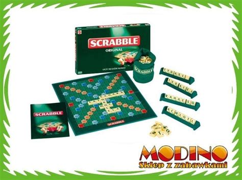 scrabble po gra słowna scrabble po polsku 51289 mattel zdjęcie na imged