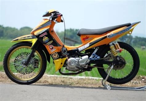 Modifikasi Jupiter Z Yang Simple by Gambar Modifikasi Jupiter Z Road Race Paling Sporty Dan Keren