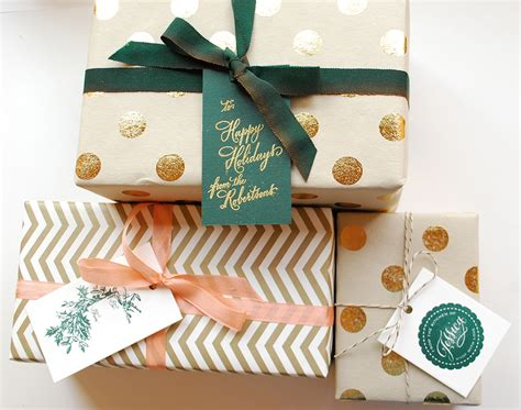 gifts this diy tutorial festive wrapping with gift tags
