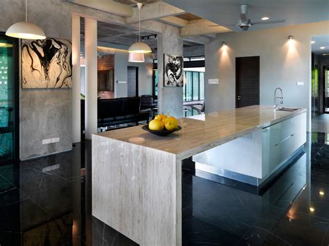 marble kitchen islands s11 house in selangor malaysia by archicentre