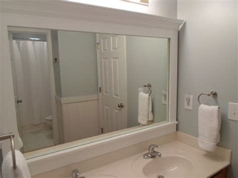 bathroom mirrors with frames 10 diy ideas for how to frame that basic bathroom mirror