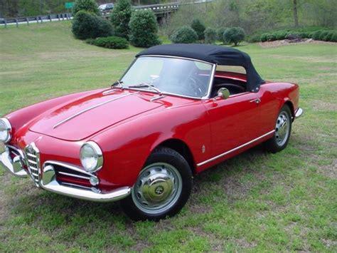 Alfa Romeo United States by 1959 Alfa Romeo Giulietta 750d Spider For Sale Alfa