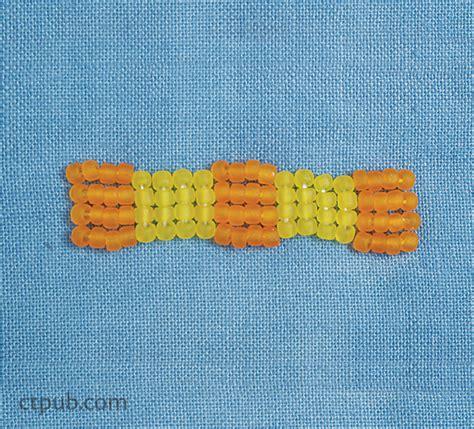 lazy stitch beading how to bead lazy stitches c t publishing