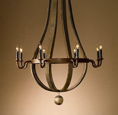 restoration hardware wine barrel chandelier constance curtis events wine barrel chandelier from