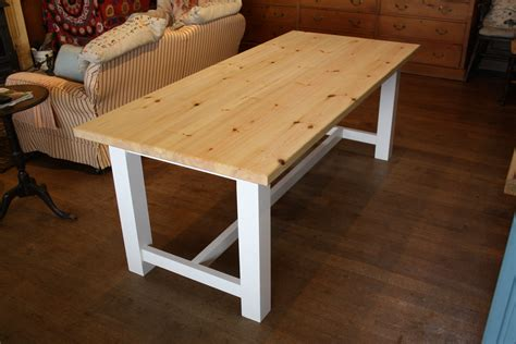 wooden kitchen tables amazing of farmhouse dining table the wooden workshop oak 419