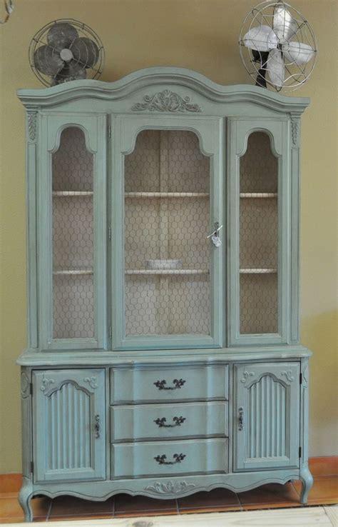 refinishing wood china cabinet home furniture decoration