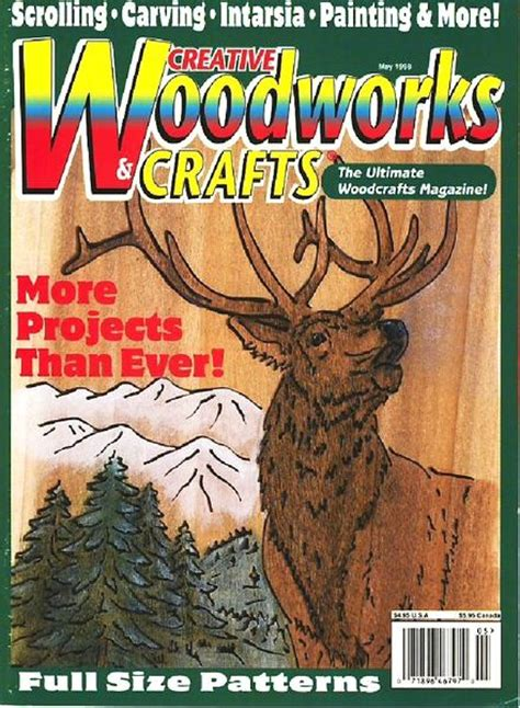 creative woodworking magazine creative woodworks crafts issue 55 may 1998