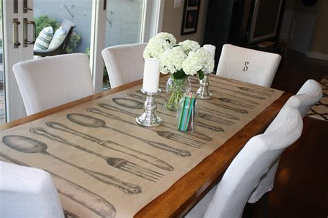 craft paper table runner the 23 best images about paper table runners on