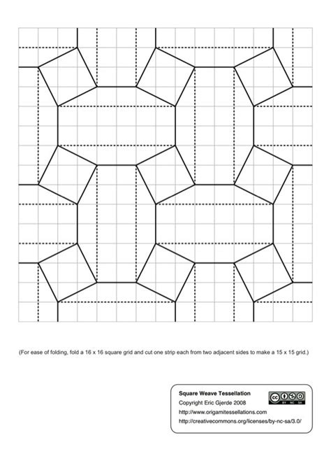May 2012 Origami Tessellations