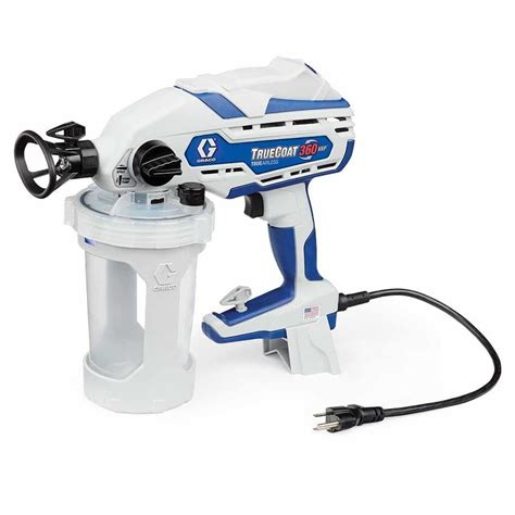 portable paint sprayers home depot shop graco truecoat 360vsp electric handheld airless paint