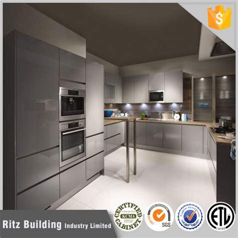 grey gloss kitchen cabinets high gloss grey lacquer kitchen cabinet buy high gloss