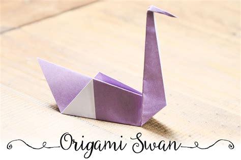 origami swan tutorial easy origami swan tutorial