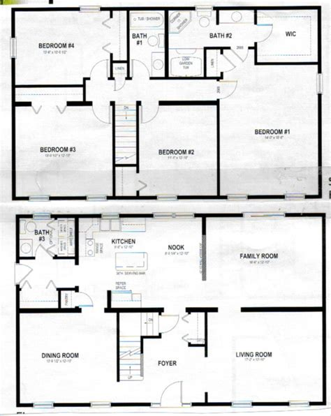 two storey house design and floor plan 2 story polebarn house plans two story home plans