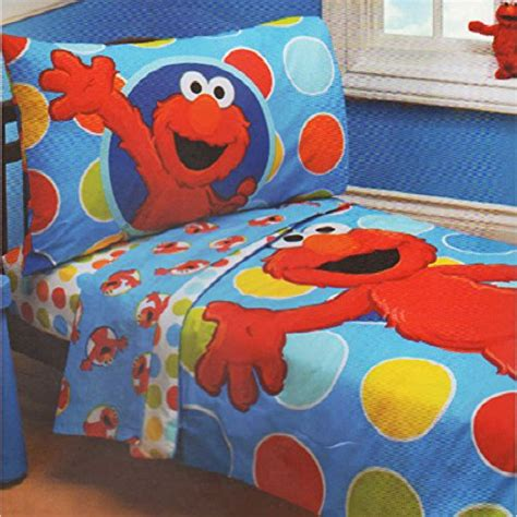 elmo bedding for cribs sesame elmo 4 toddler bedding set furniture