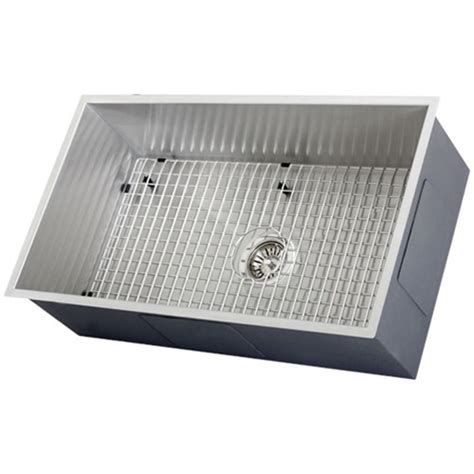 kitchen sink accessory ticor s6503 undermount 16 stainless steel kitchen