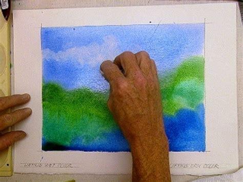 painting tutorial watercolor technique to lift erase remove paint