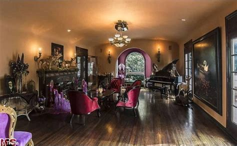 Victorian Inspired Home Decor kat von d to sell her gothic mansion for 2 5 million as