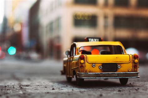 Car Toys Wallpaper by Photo Taxi Cars Back View Automobile Toys