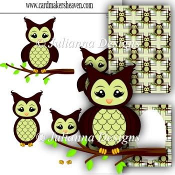 Wise Owl Decoupage Set 163 1 00 Instant Card