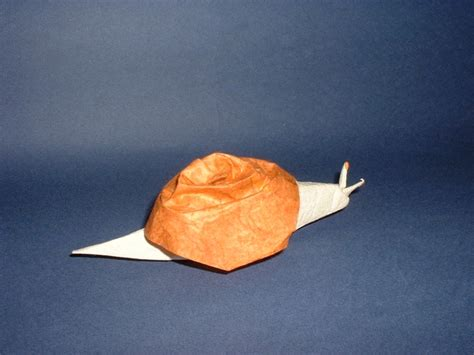origami snail origami molluscs page 1 of 2 gilad s origami page