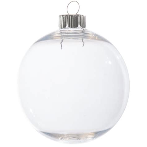 clear plastic ornaments bulk clear plastic ornament 83mm 2610 62 craftoutlet