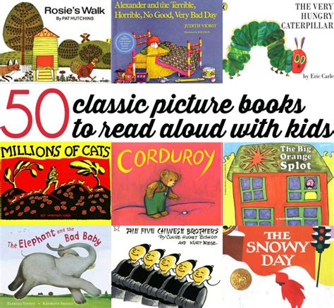 classic picture books 20 classic chapter books to read with 5 8 year olds