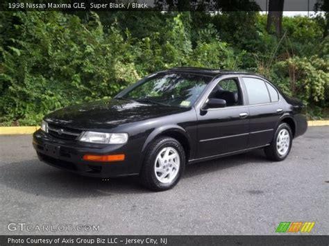 1998 Nissan Maxima Gle by Black 1998 Nissan Maxima Gle Black Interior