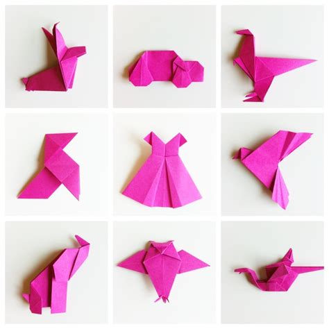 Easy Origami Shapes Origami Watercolour