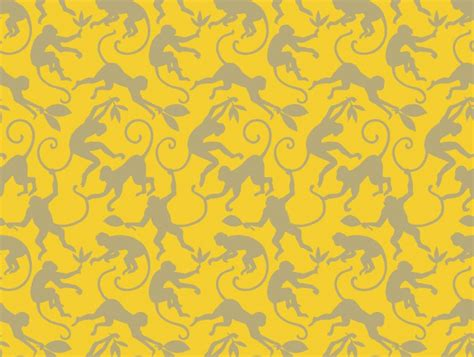 monkey wallpaper for walls monkey business bamboo designer wallpaper