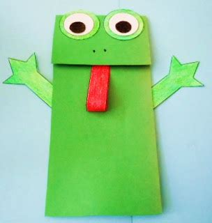 paper bag arts and crafts learning ideas grades k 8 frog paper bag puppet crafts