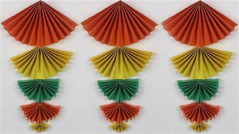hanging origami decorations diy home decor origami idea new wall hanging crafts wall