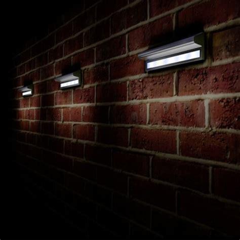 wall mounted solar garden lights kensington solar powered wall light