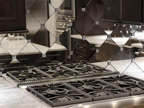Stone Kitchen Backsplashes private residence antique mirror backsplash tiles