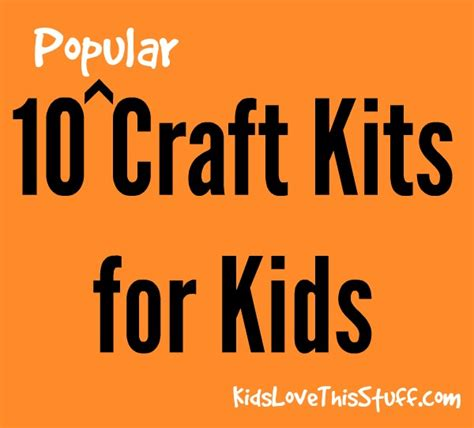 popular crafts craft kits for 10 popular craft gifts to buy in 2014