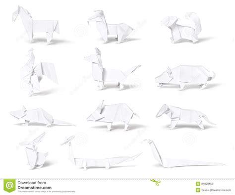 origami zodiac origami paper zodiac royalty free stock photo