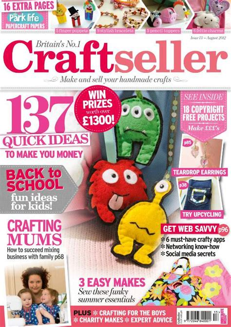 craft magazine a great morning read ideal for business craft seller