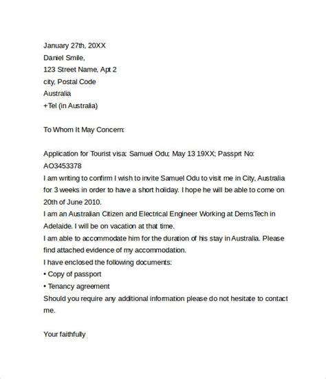 visa withdrawal letter request letter format letter and