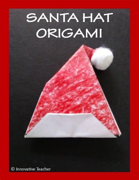 santa hat origami 11494 best best of hanukkah kwanzaa more