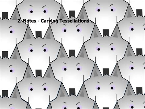 how to make a tessellation with an index card geometry day 57 tessellation project cont d area i