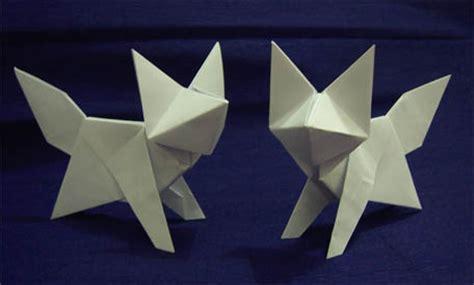 how to make a origami fox origami fox by arturoeduardo on deviantart