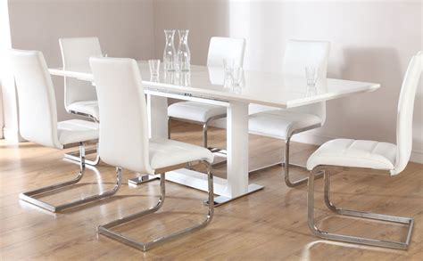 dining room tables white tokyo perth extending dining set white only 163 599 99
