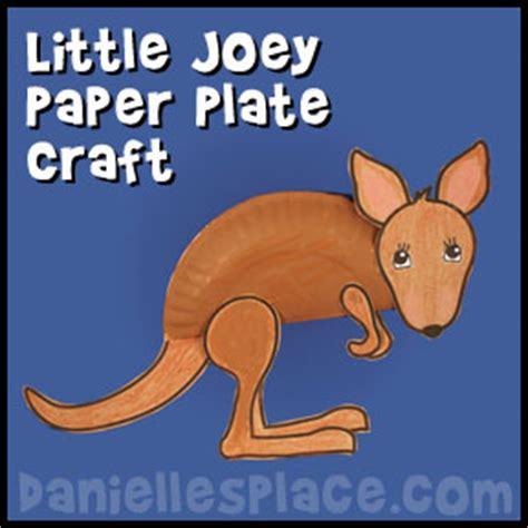 kangaroo paper craft kangaroo crafts for