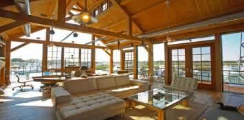 maison en bois poteaux poutres la maison en bois de luxe
