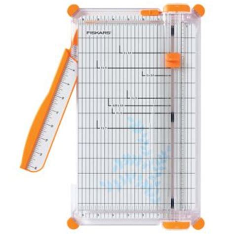 paper craft cutter fiskars portable paper trimmer scrapbook guillotine office