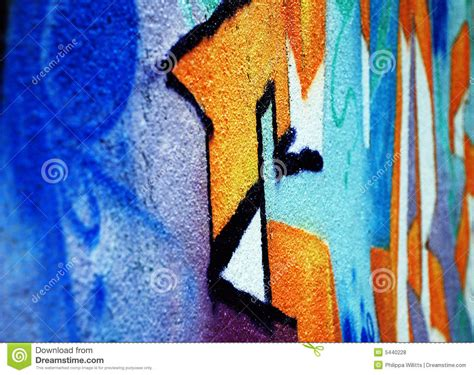 spray painting on walls spray painted wall royalty free stock photos image 5440228