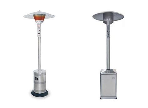 dcs patio heater taking the chill patio heaters gardenista